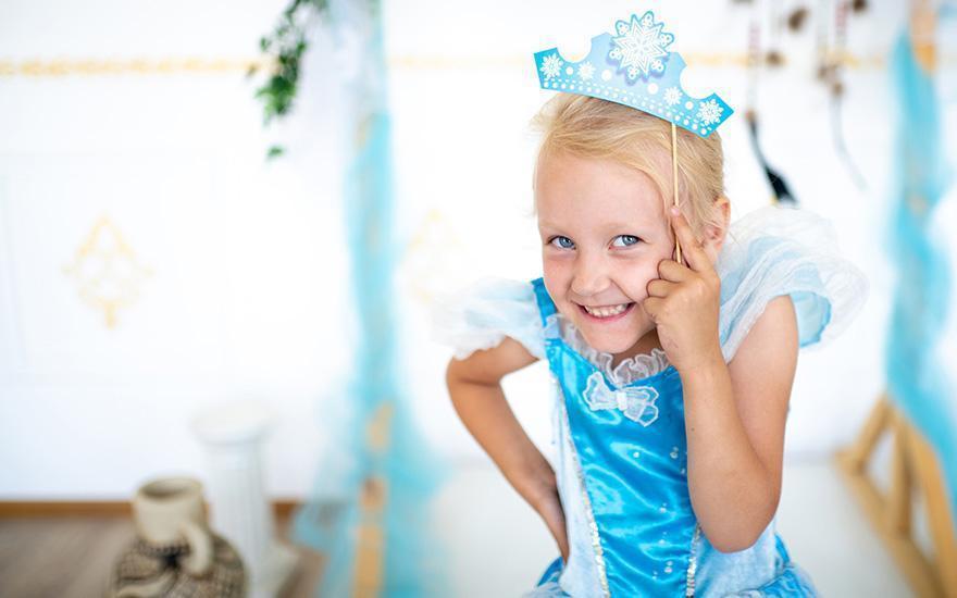 Dziewczynka księżniczka